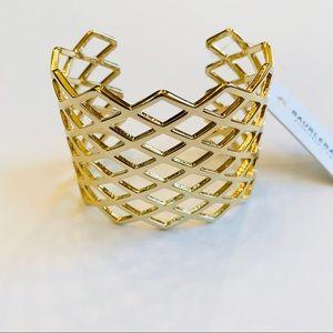 BaubleBar Gold Cuff Bracelet